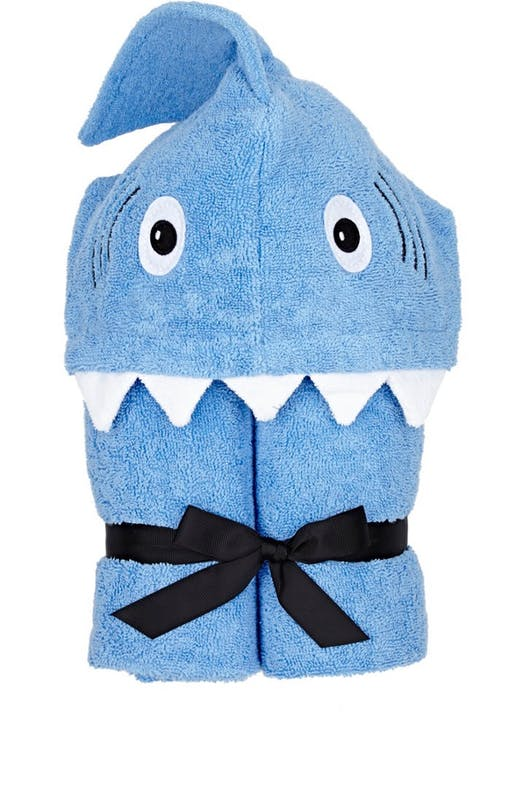 Shark Hooded Toddler Towel