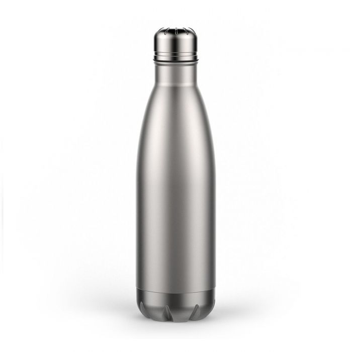Silver Thermal Bottle