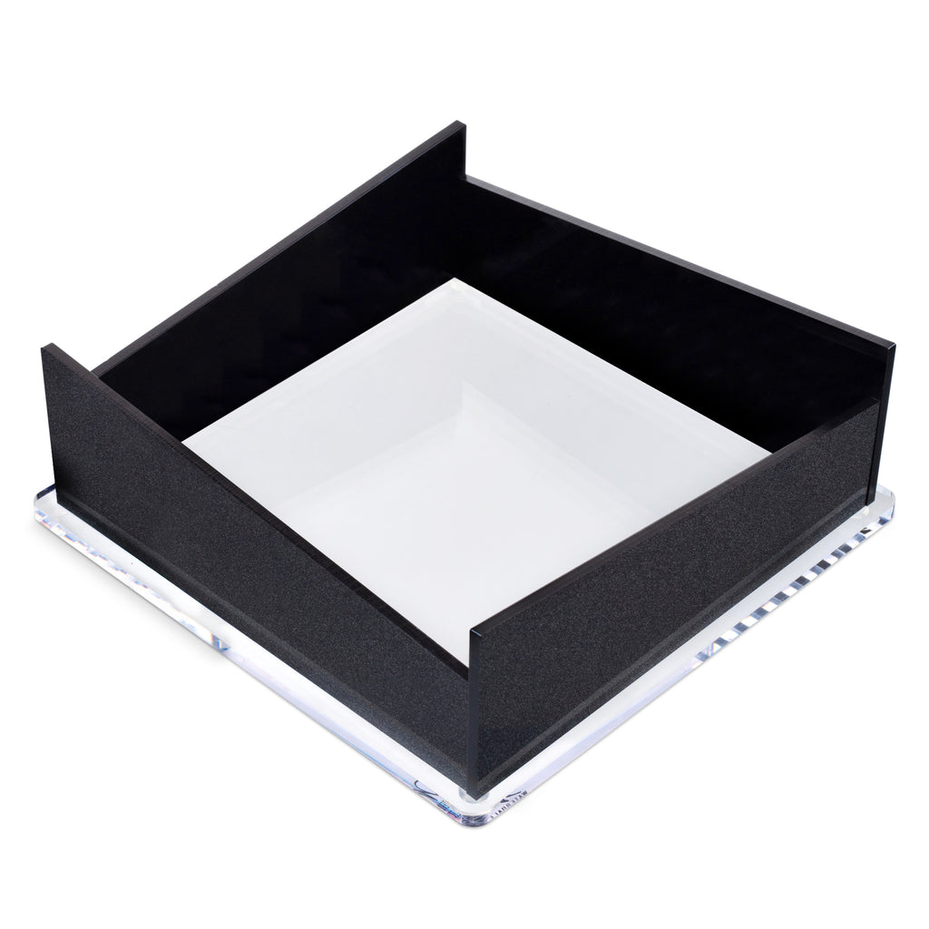 Black Glitter Napkin Holder