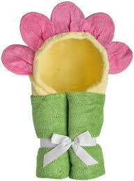 Toddler Flower Hooded Towel