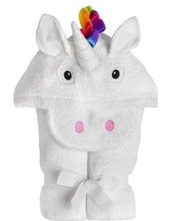 Toddler Unicorn Hooded Towel