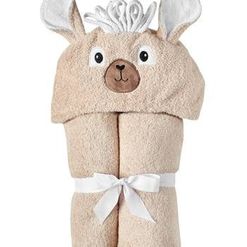 Llama Hooded Toddler Towel