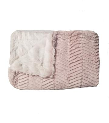 Ziggy Blush Minky Blanket