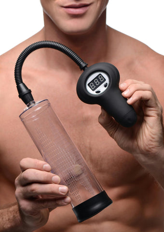 Automatic Digital Penis Pump with Easy Grip