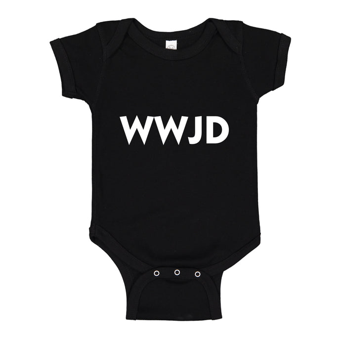 Baby Onesie WWJD 100% Cotton Infant Bodysuit