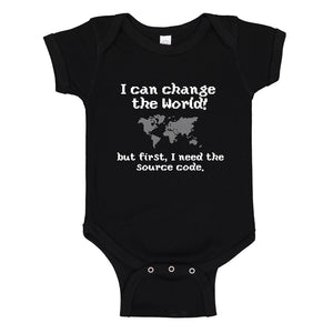 Baby Onesie I Can Change the World 100% Cotton Infant Bodysuit