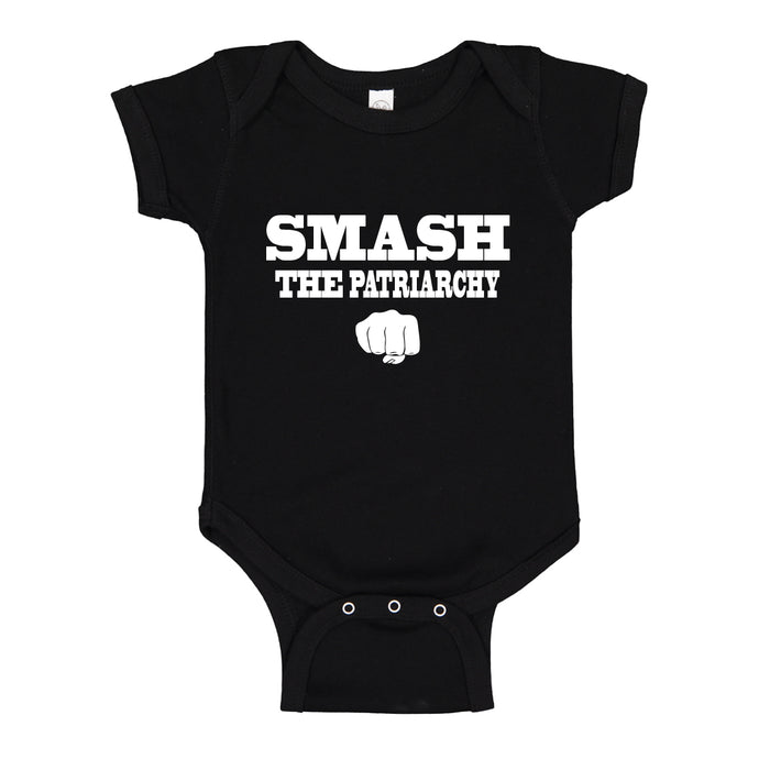 Baby Onesie Smash the Patriarchy 100% Cotton Infant Bodysuit