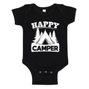 Baby Onesie Happy Camper 100% Cotton Infant Bodysuit