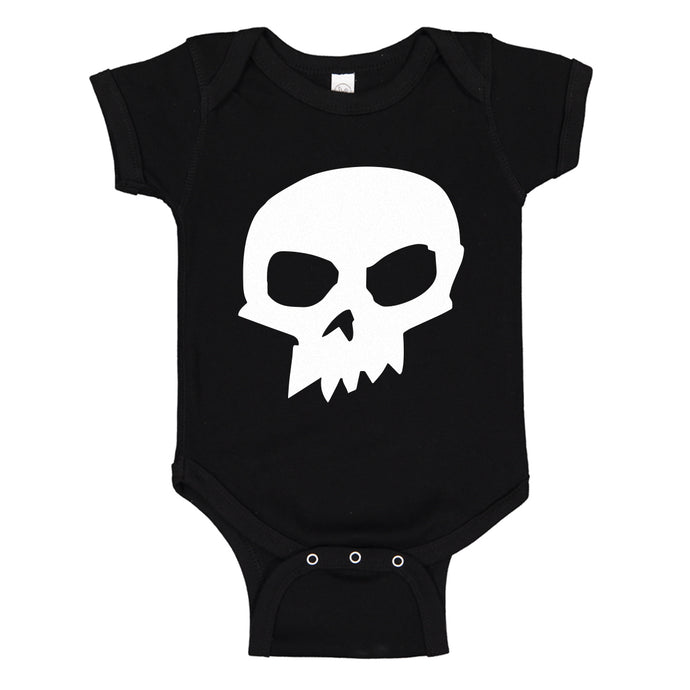 Baby Onesie Sid Skull Shirt 100% Cotton Infant Bodysuit