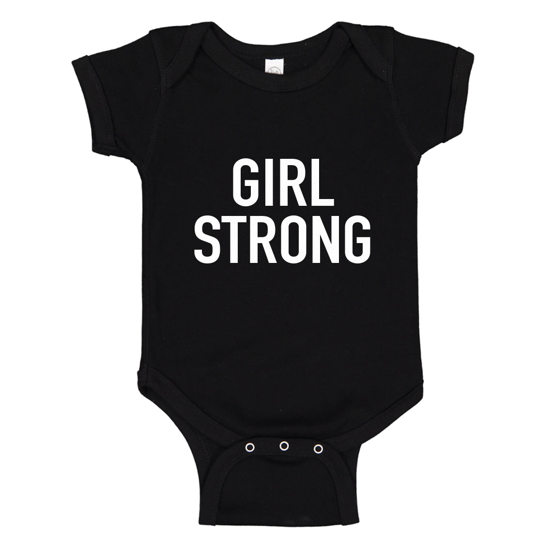 Baby Onesie Girl Strong 100% Cotton Infant Bodysuit