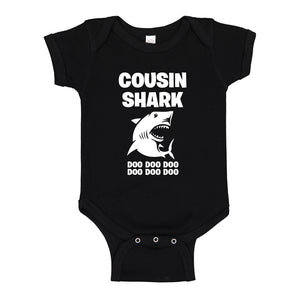 Baby Onesie Cousin Shark 100% Cotton Infant Bodysuit