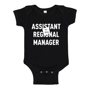 Baby Onesie Assistant to the Regional Manager 100% Cotton Infant Bodysuit