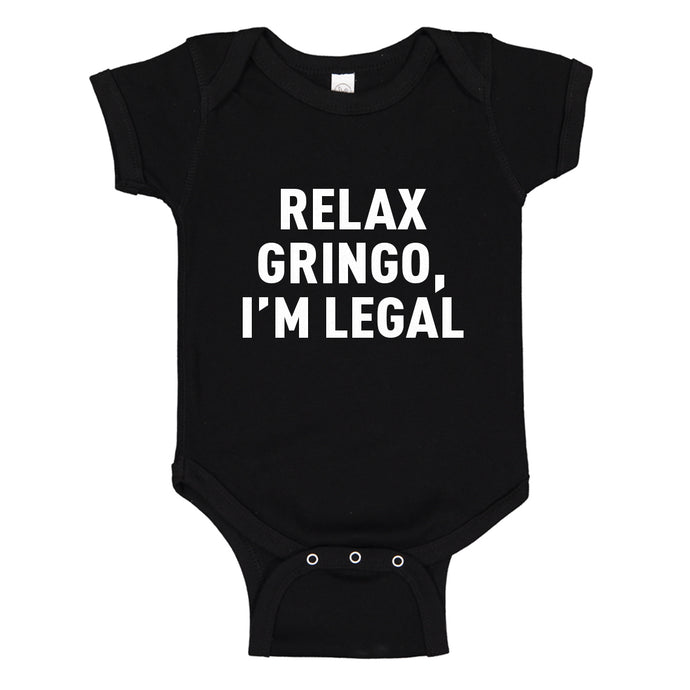 Baby Onesie Relax Gringo 100% Cotton Infant Bodysuit