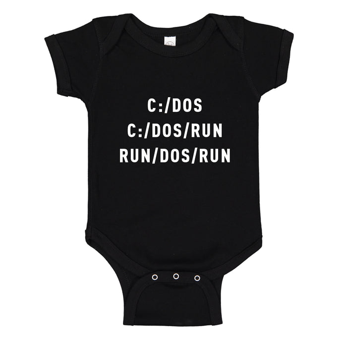 Baby Onesie C Dos Run 100% Cotton Infant Bodysuit