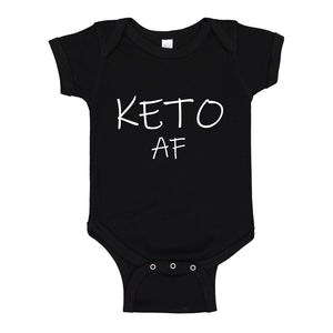 Baby Onesie KETO AF 100% Cotton Infant Bodysuit