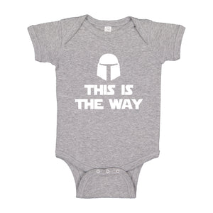 Baby Onesie This is the Way 100% Cotton Infant Bodysuit