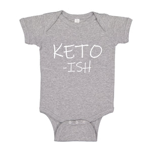 Baby Onesie KETO -ish 100% Cotton Infant Bodysuit