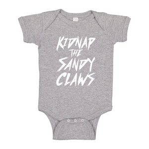 Baby Onesie Kidnap the Sandy Claws 100% Cotton Infant Bodysuit