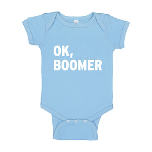 Baby Onesie Ok, Boomer 100% Cotton Infant Bodysuit