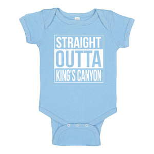 Baby Onesie Straight Outta Kings Canyon 100% Cotton Infant Bodysuit