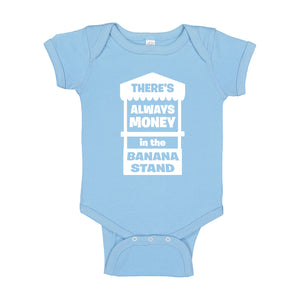 Baby Onesie There's Always Money in the Banana Stand 100% Cotton Infant Bodysuit
