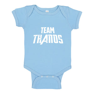 Baby Onesie TEAM THANOS 100% Cotton Infant Bodysuit