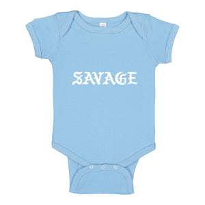 Baby Onesie Savage 100% Cotton Infant Bodysuit