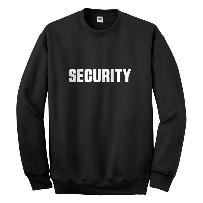 Crewneck Security Unisex Sweatshirt