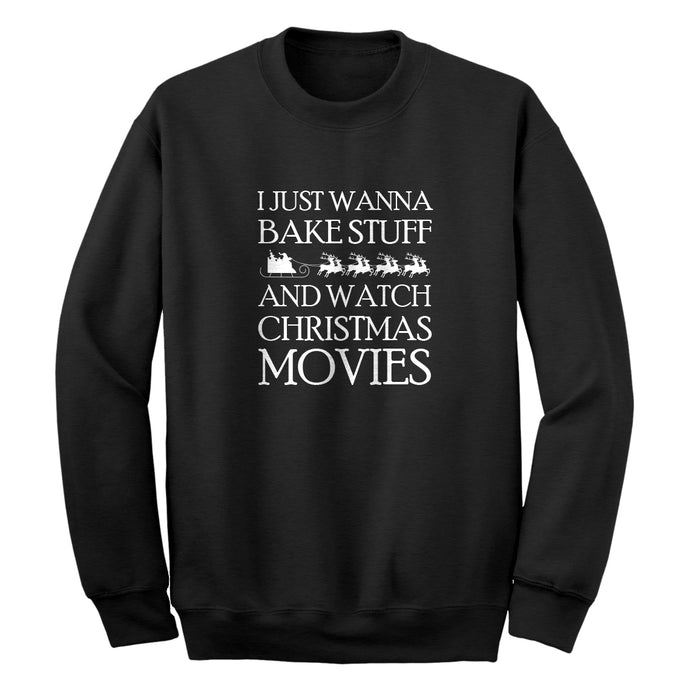 Bake Stuff, Christmas Movies Unisex Adult Sweatshirt