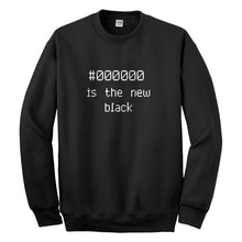Crewneck 000000 is the new black Unisex Sweatshirt