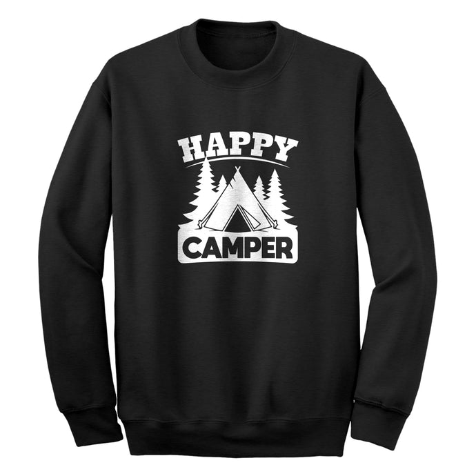 Crewneck Happy Camper Unisex Sweatshirt