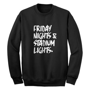 Crewneck Friday Nights Stadium Lights Unisex Sweatshirt