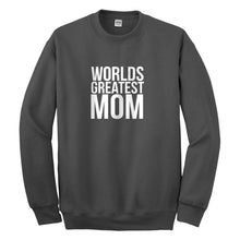Crewneck Worlds Greatest Mom Unisex Sweatshirt