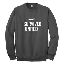 Crewneck I Survived United Unisex Sweatshirt