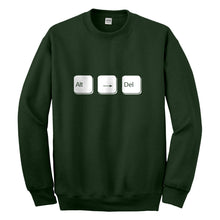 Crewneck Alt Right Delete Unisex Sweatshirt