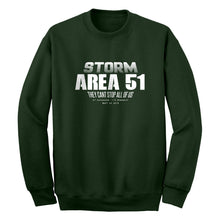 Storm Area 51 They Can't Stop Us All Unisex Adult Sweatshirt