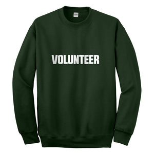 Crewneck Volunteer Unisex Sweatshirt