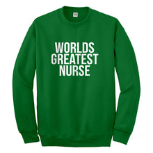 Crewneck Worlds Greatest Nurse Unisex Sweatshirt