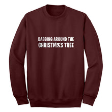 Dabbing Around the Xmas Tree Unisex Adult Sweatshirt