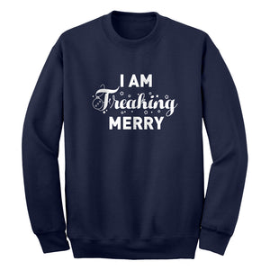 Freaking Merry Unisex Adult Sweatshirt