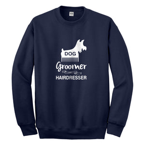 Crewneck Dog Groomer Unisex Sweatshirt