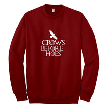 Crewneck Crows Before Hoes Unisex Sweatshirt