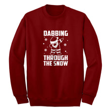 Dabbing through the Snow Unisex Adult Sweatshirt