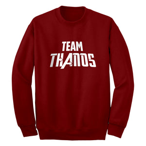 TEAM THANOS Unisex Adult Sweatshirt