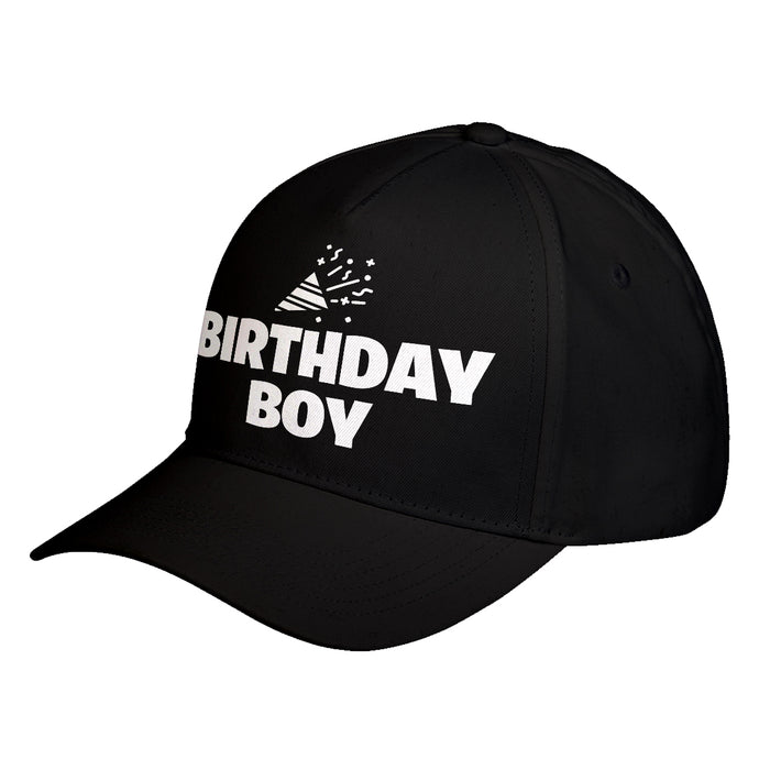 Hat Birthday Boy Baseball Cap