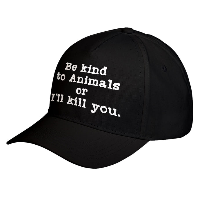 Hat Be Kind to Animals Baseball Cap