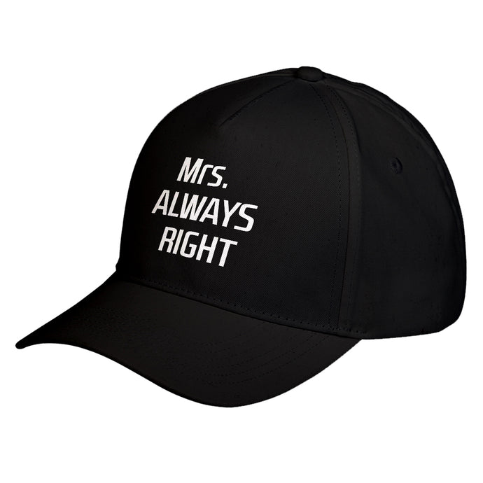 Hat Mrs. Always Right Baseball Cap