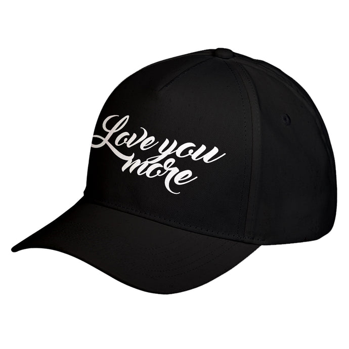 Hat Love You More Baseball Cap