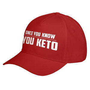Hat Once You Know, You Keto Baseball Cap