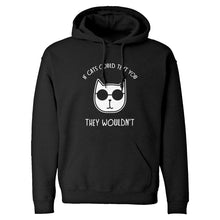 If Cats Could Text Unisex Adult Hoodie